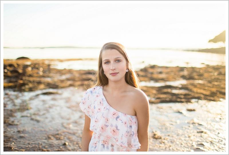 Oceanna on the beach. Edward Little Senior Class of 2018