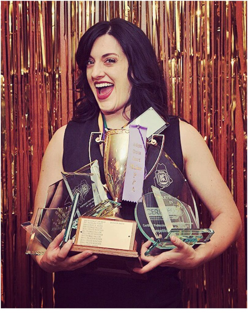 The awards Lauren received in the 2019 MPPA convention for her award winning concepts and wedding imagery
