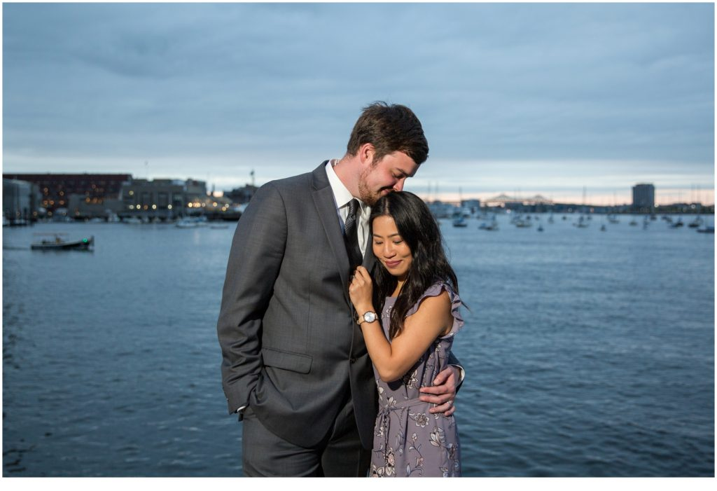 By the water | Will and Amanda surprise Boston elopement