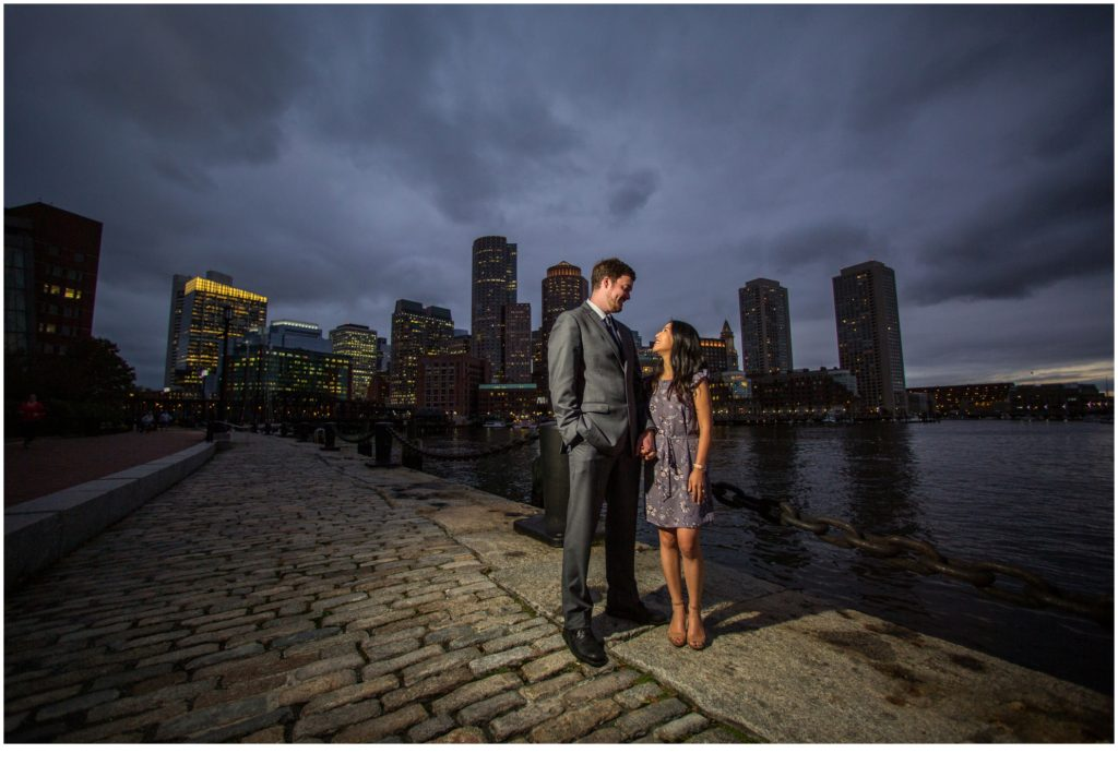 Along the harbor | Will and Amanda surprise Boston elopement