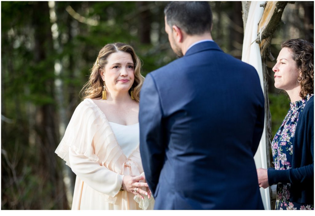 Jill and Kevin's Intimate Wedding at Hidden Pond, Kennebunkport