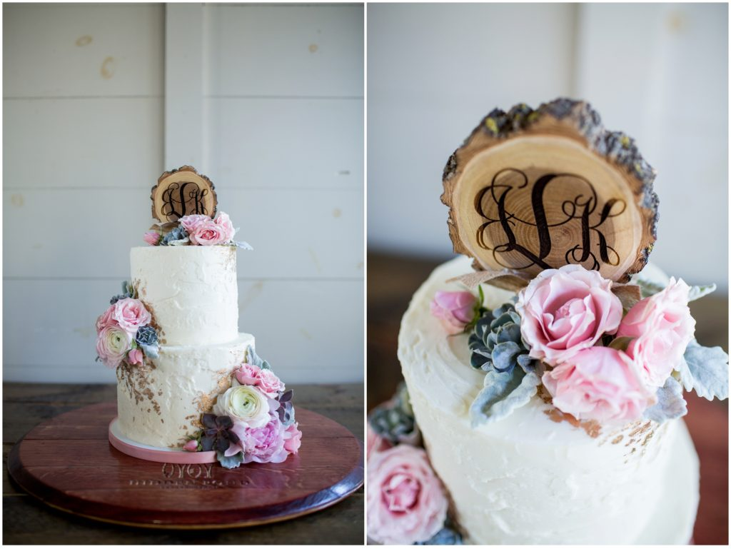 cake - Jill and Kevin's Intimate Wedding at Hidden Pond, Kennebunkport