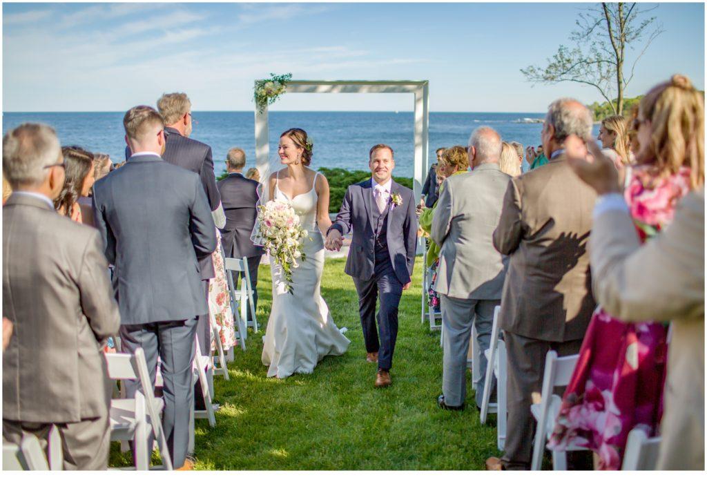 Matt and Cait's nautical themed, York Reading Room wedding in Maine