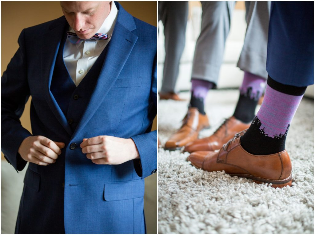Cool Socks - A Summer Wedding at Boston's State Room