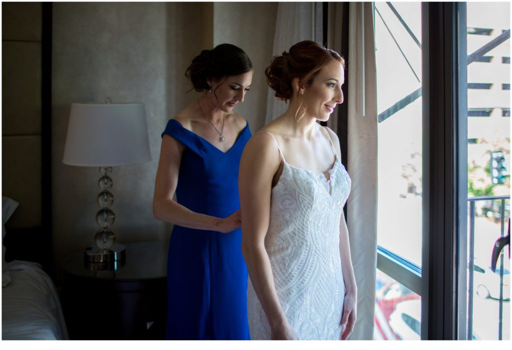 A Summer Wedding at Boston's State Room
