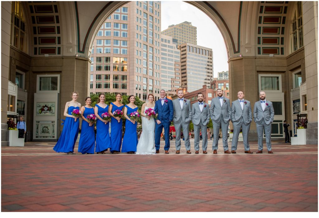 Bridal Party - A Summer Wedding at Boston's State Room