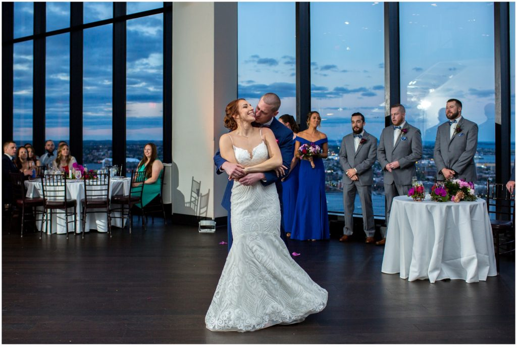 First Dance - A Summer Wedding at Boston's State Room