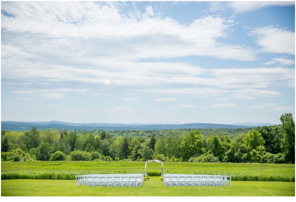 The View - Rustic, Country Maine Wedding