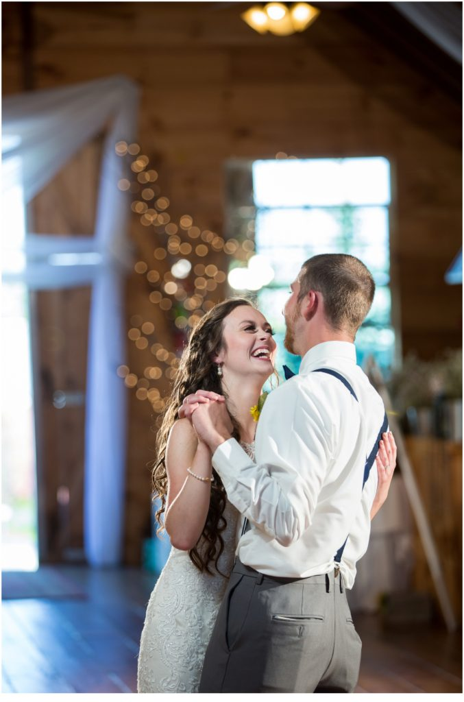 First Dance - Rustic, Country Maine Wedding