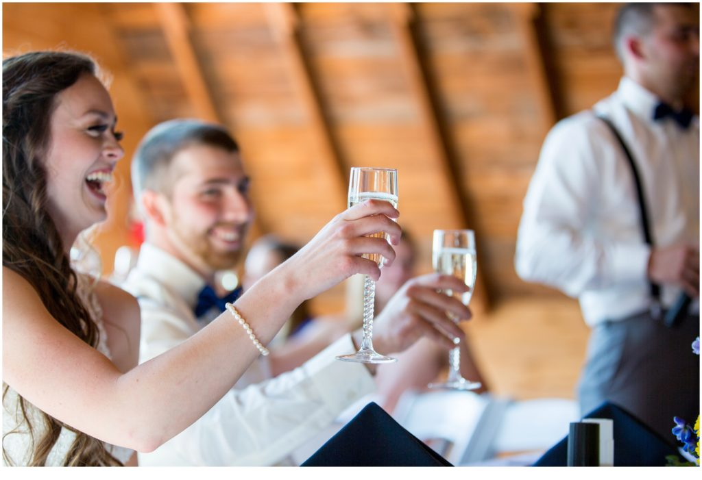 Cheers - Rustic, Country Maine Wedding