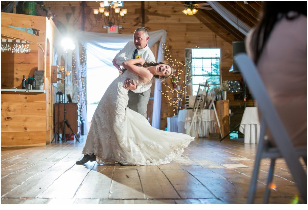 Rustic, Country Maine Wedding