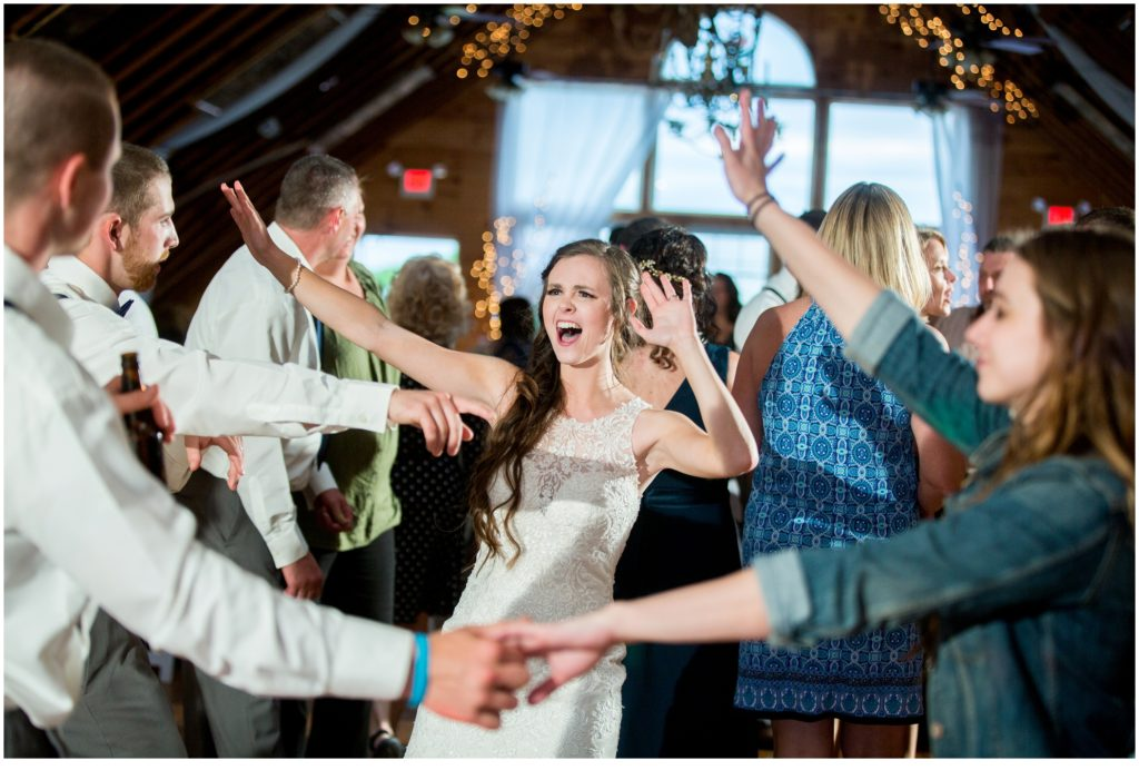 Dancing - Rustic, Country Maine Wedding