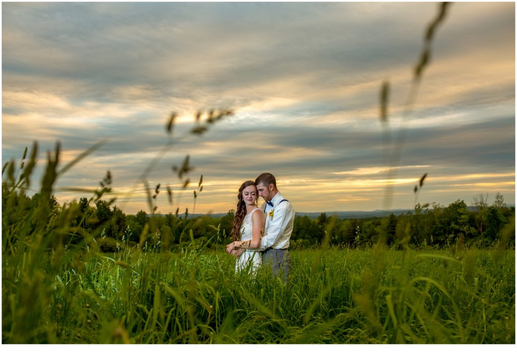 Meagan and Mike's Rustic Maine Wedding