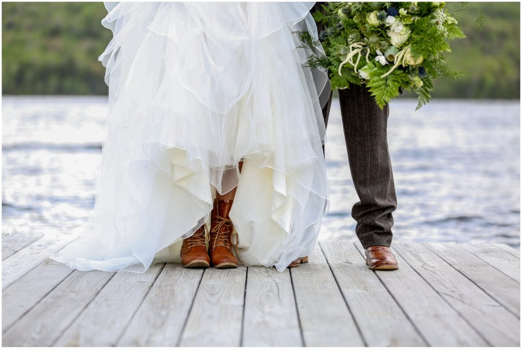 Lake Parlin Lodge Styled Outdoorsy Wedding Shoot
