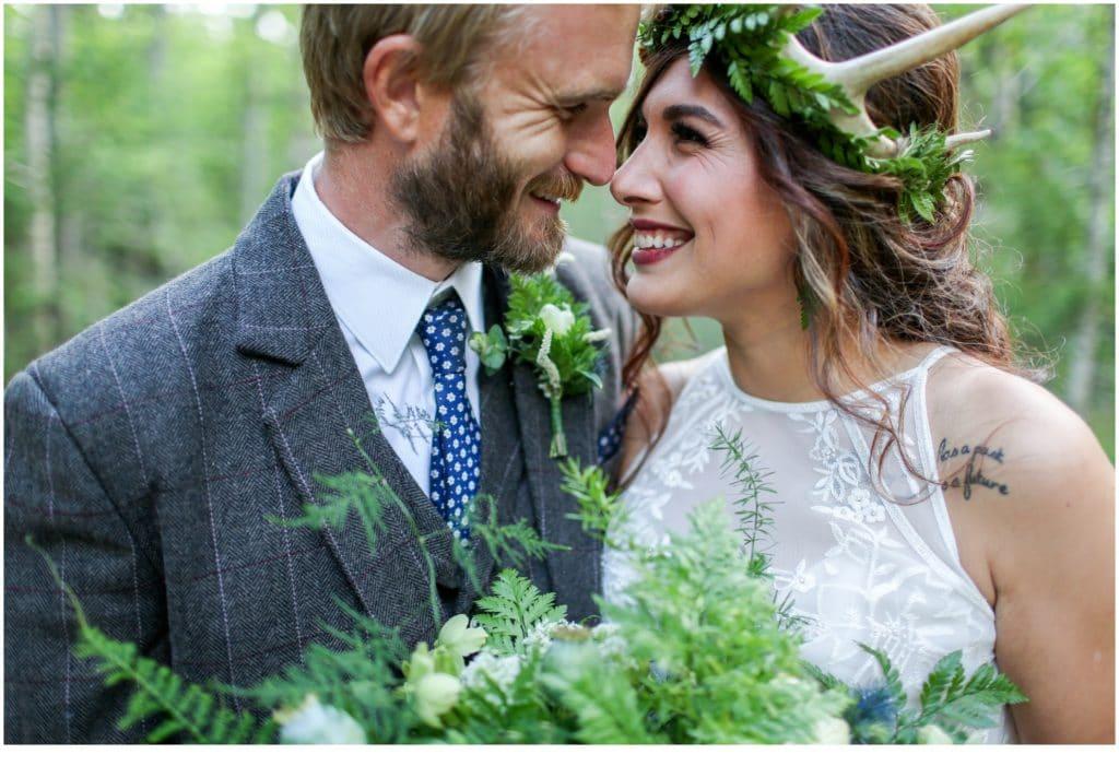 Styled Wedding Shoot at Lake Parlin Lodge