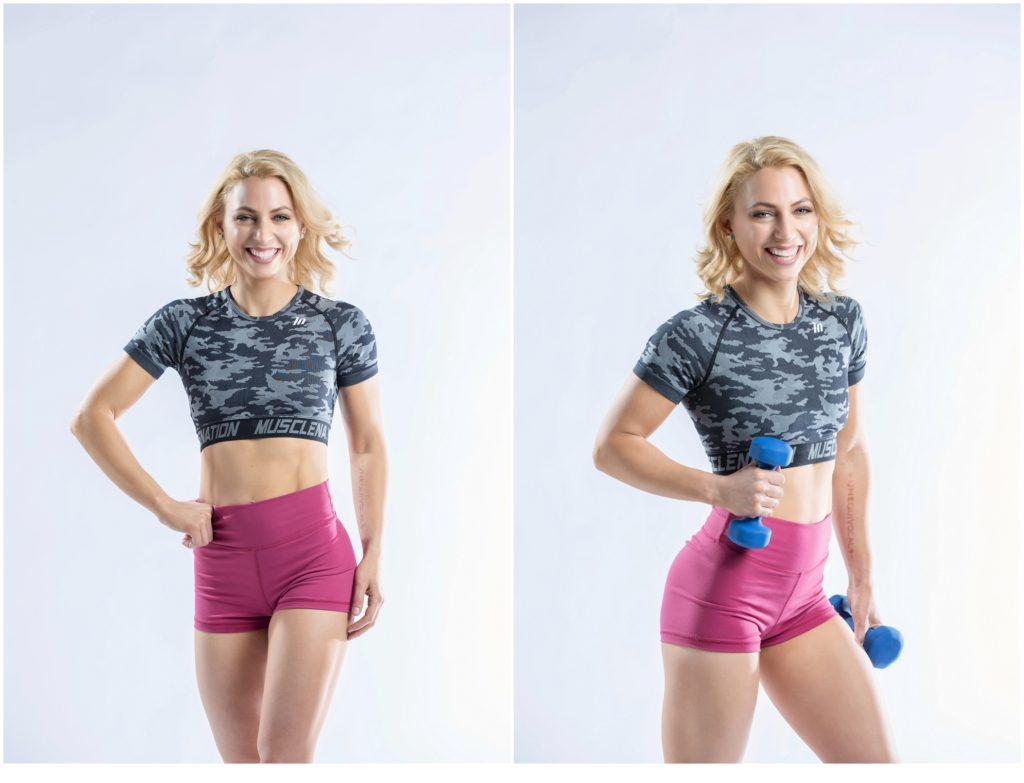 Fitness Shoot with WNBF Pro Bodybuilder, Shaina