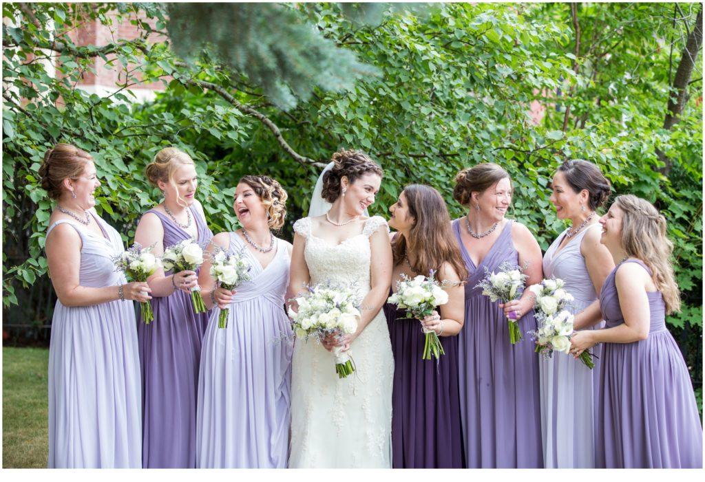 Bride and Bridesmaids - Charlie and Vanessa's Agora Grand Wedding