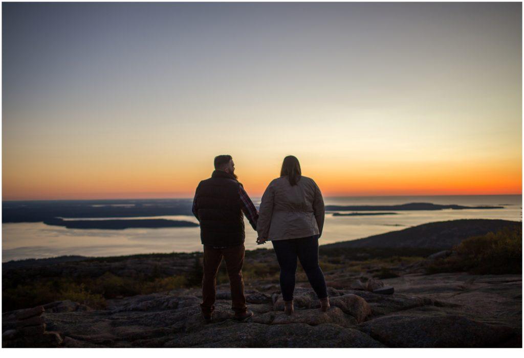 A Sunrise Proposal on Cadillac Mountain