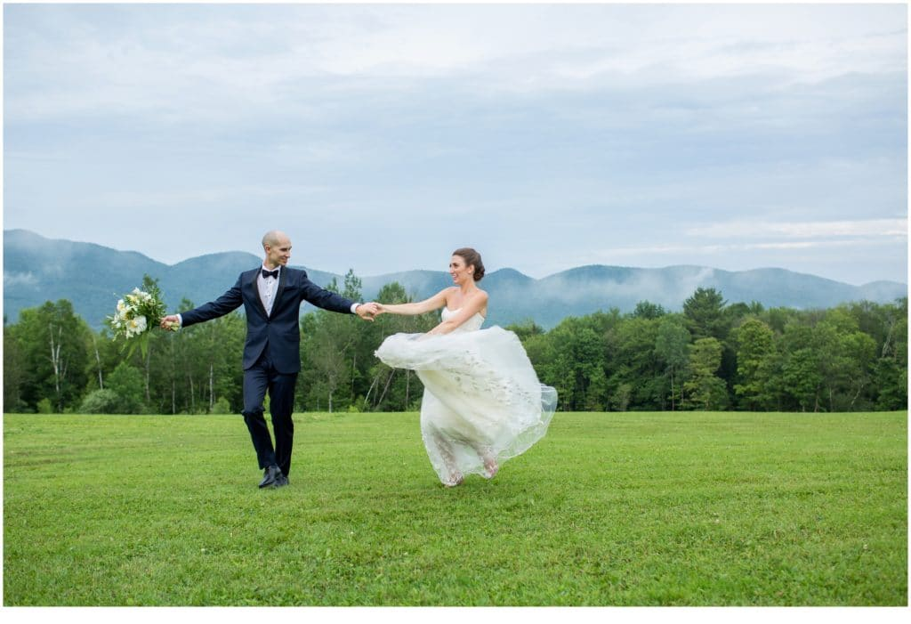 Lilly and Winslow's Mountain Top Inn and Resort Wedding in Vermont