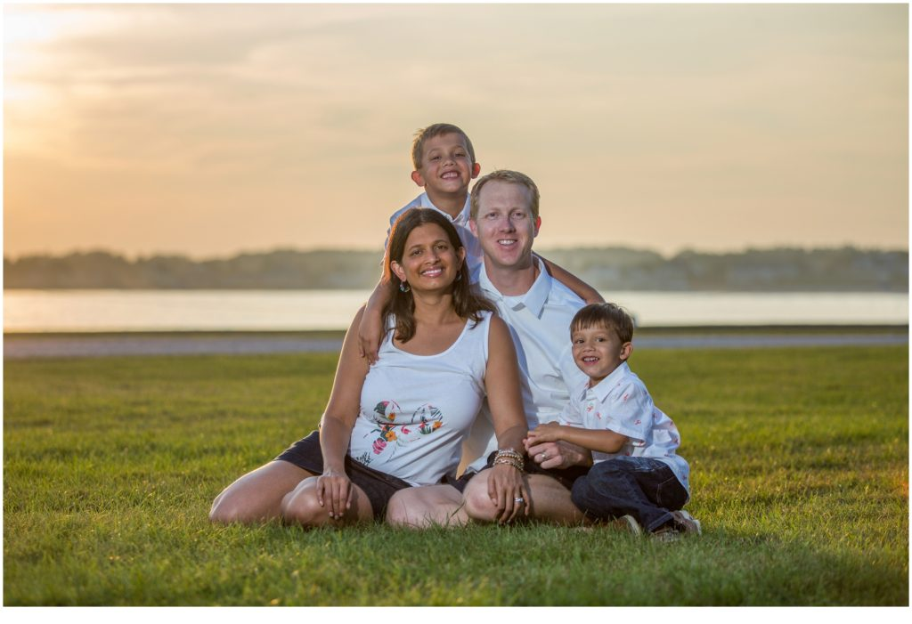Maine vacation family portraits - Kennebunkport