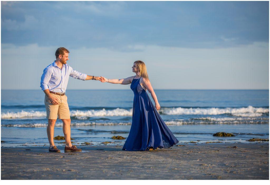 Higgins Beach Engagement