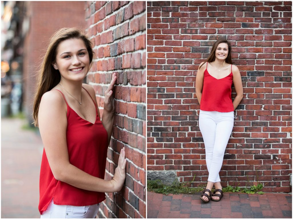 Madison, Hall-Dale Senior in the Old Port, Portland Maine