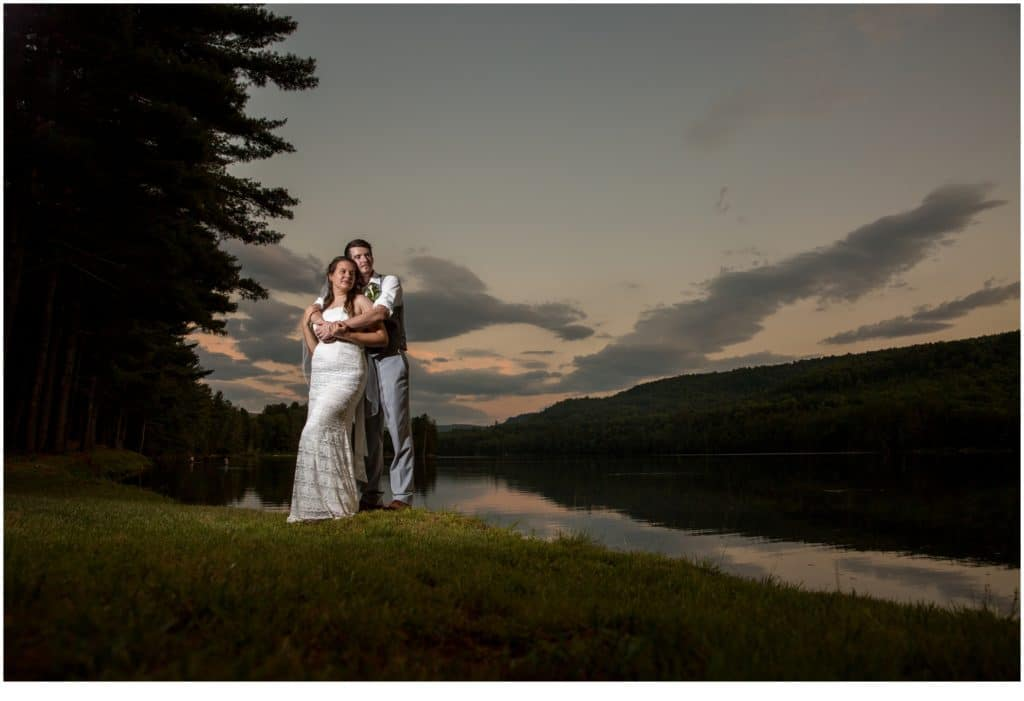 A Mountain Wedding at Maine Lakeside Cabins