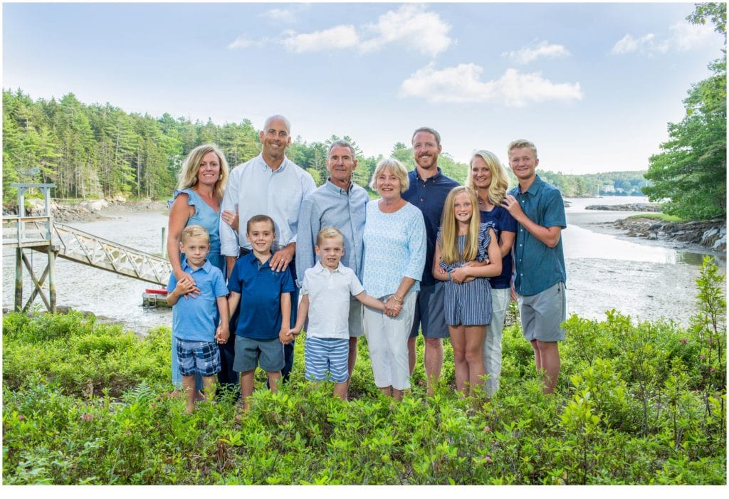Boothbay Extended Family Portraits