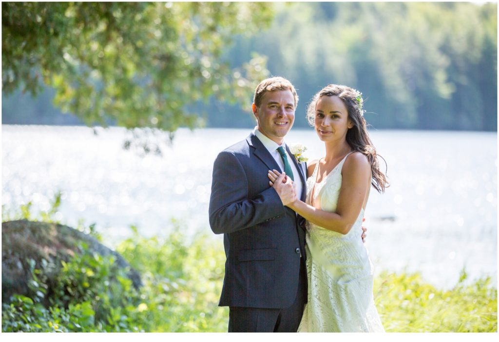 An Intimate Lakeside Wedding in Maine