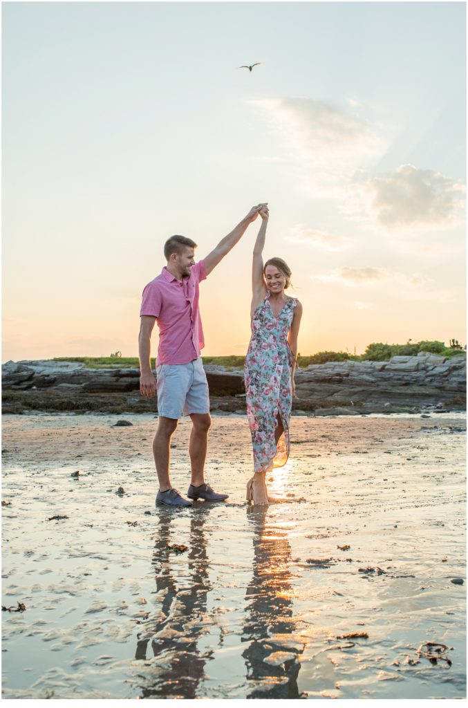 Fun Kettle Cove Engagement