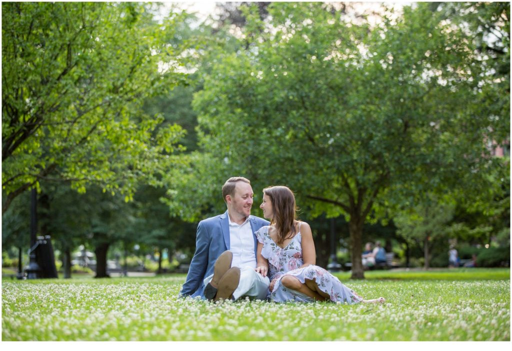 Beautiful Boston Engagement of Hannah and Kyle