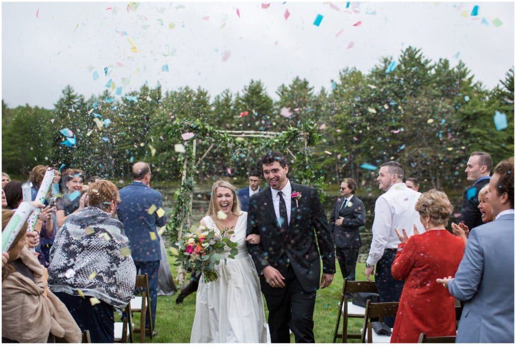 Farm Wedding in Strafford, New Hampshire