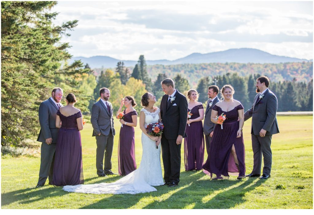 A Lodge Wedding in the Mountains of Maine