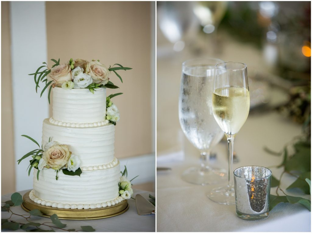 Cake and details - An Omni Mount Washington Resort Wedding for a Blended Family
