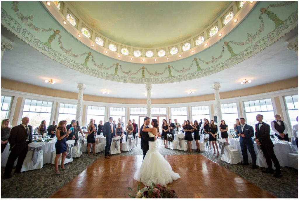 First Dance - An Omni Mount Washington Resort Wedding for a Blended Family