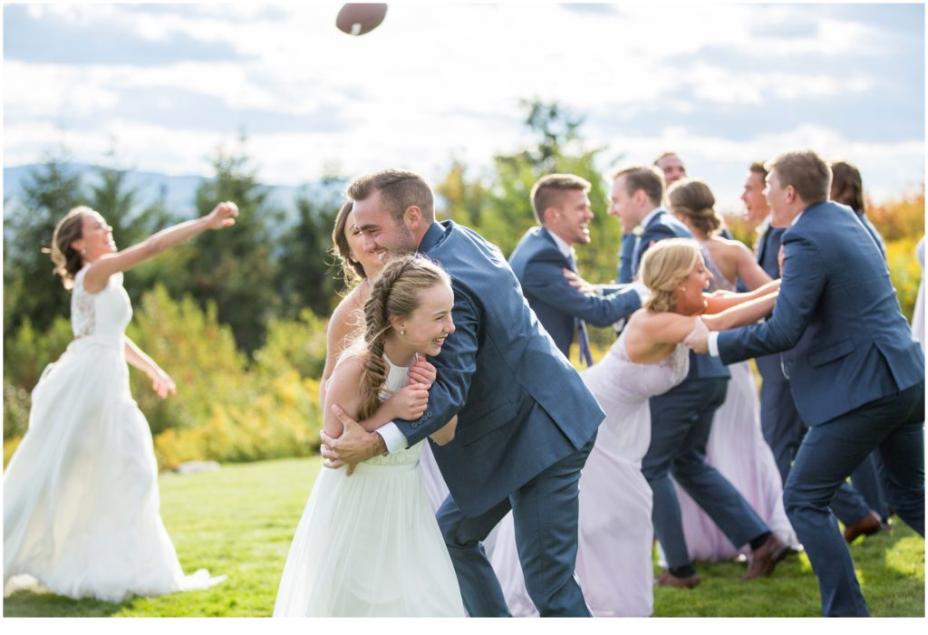 Mountaintop Maine Wedding