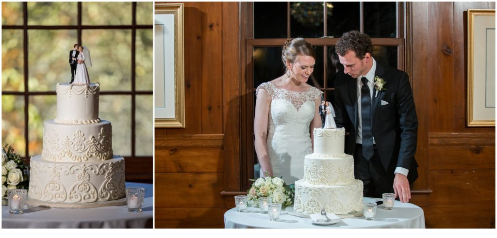 Colony Resort Wedding - Justin and Emily Cake Cutting