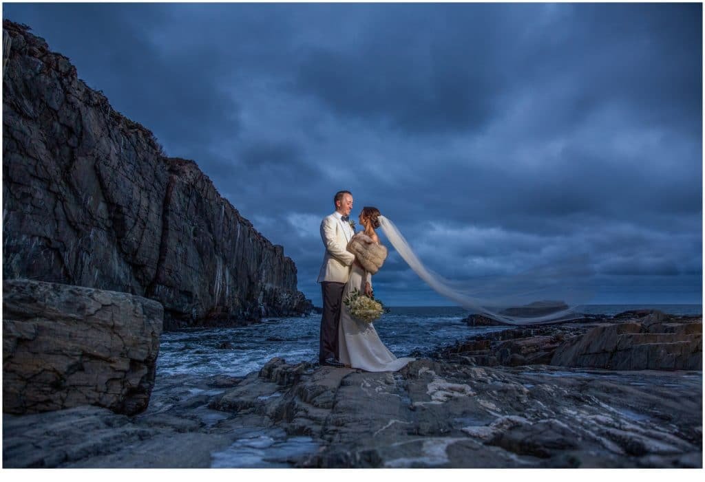 Cliff House Winter Wedding
