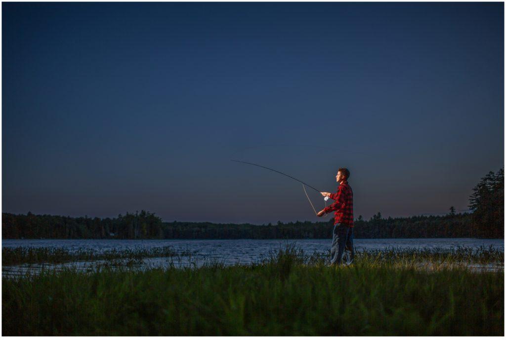 Luke fly Fishing, Class of 2021