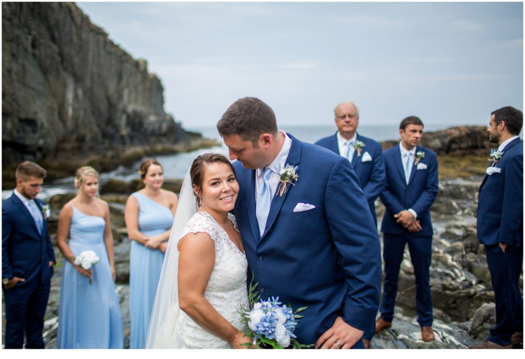 Intimate Cliff House Micro-Wedding