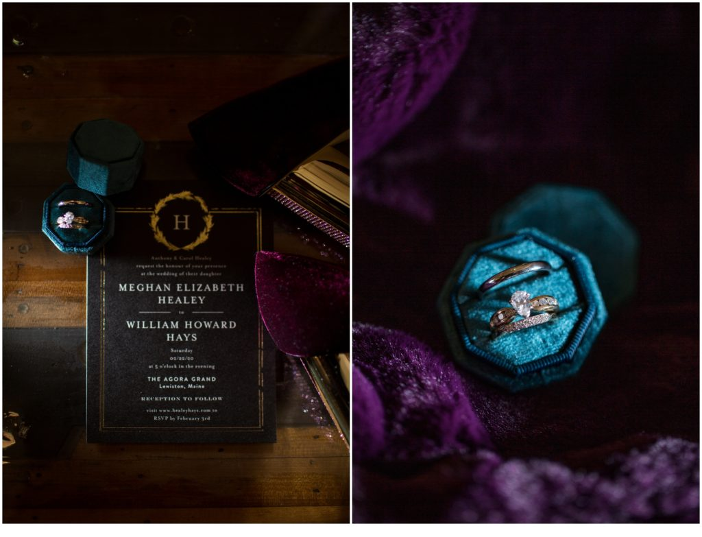 Details - A Vintage-Inspired Winter Wedding at Agora Grand