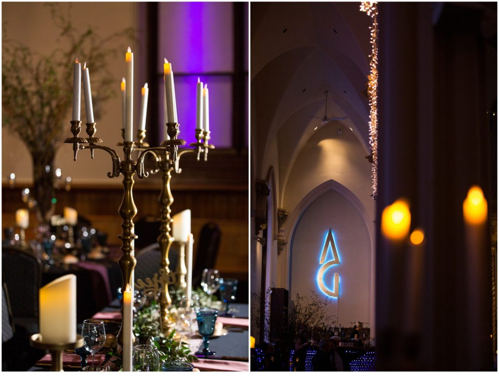 Reception details - A Vintage-Inspired Winter Wedding at Agora Grand