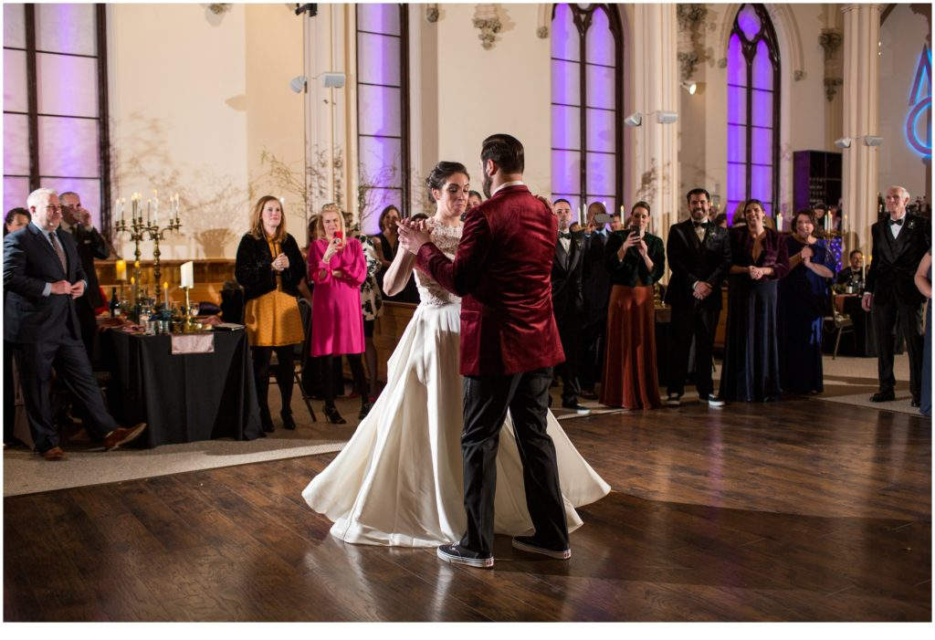 First dance - A Vintage-Inspired Winter Wedding at Agora Grand