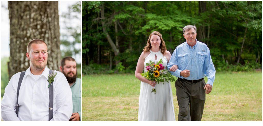 Backyard Micro-Wedding