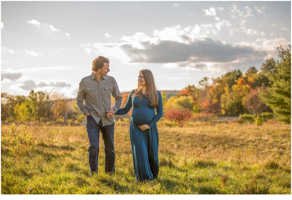 Maine outdoor Maternity Photography