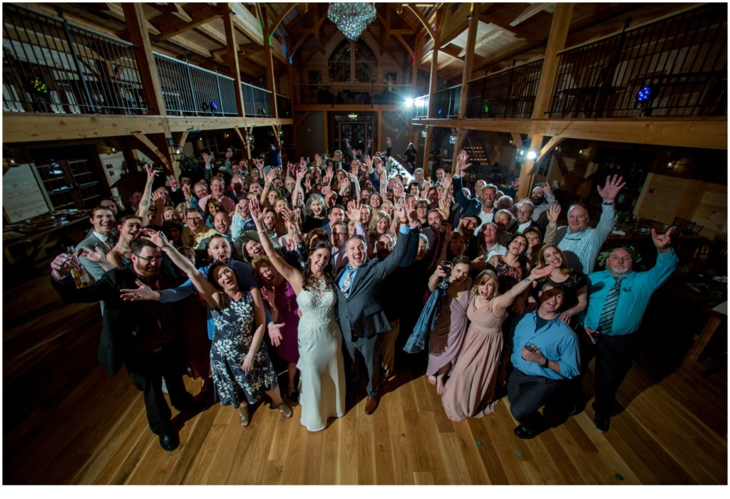 Winter Barn Wedding at the Old Saco Inn