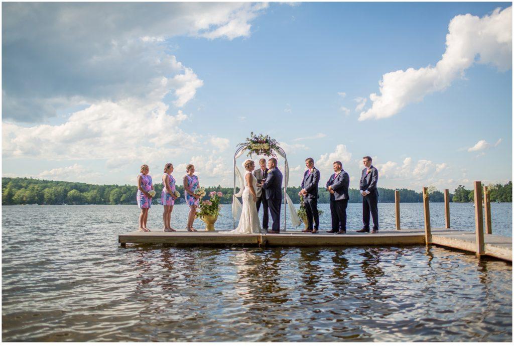 Maine Lakeside Wedding
