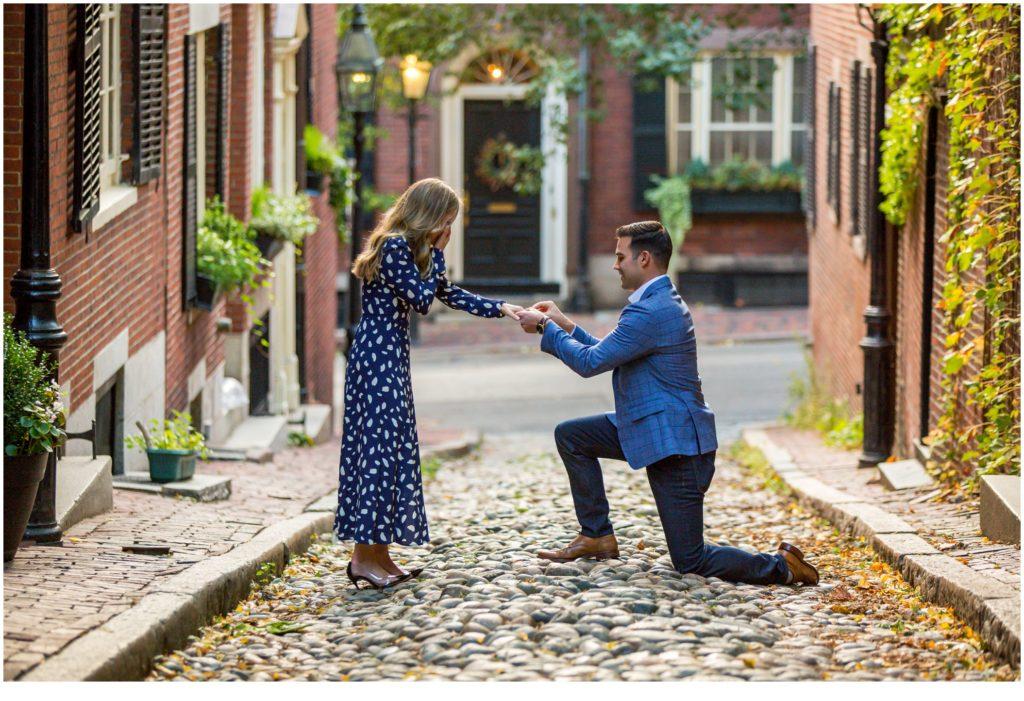 An Acorn Street Proposal, Boston