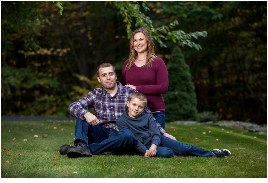 Maine Backyard Family Portraits