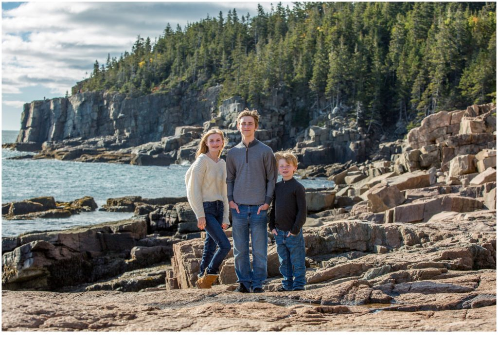 Family Photography in Acadia National Park